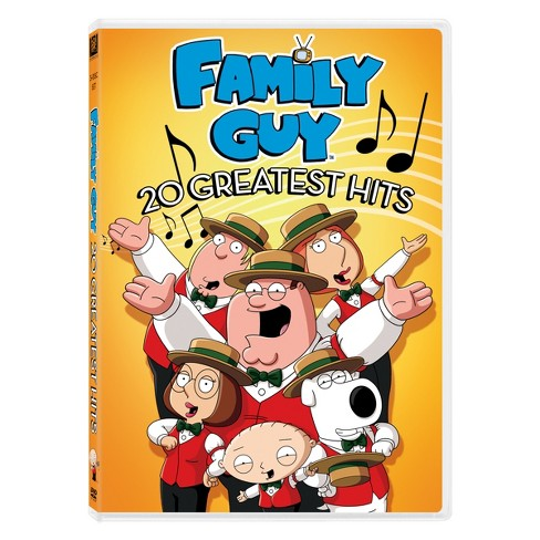 Family Guy 20 Greatest Hits (DVD) - image 1 of 1
