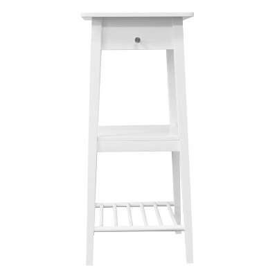 Standing Laptop Desk with Backpack Peg White - Room Essentials™