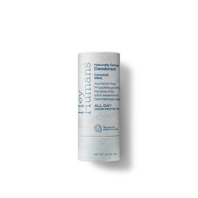 Hey Humans Natural Deodorant Coconut Mint - 2oz