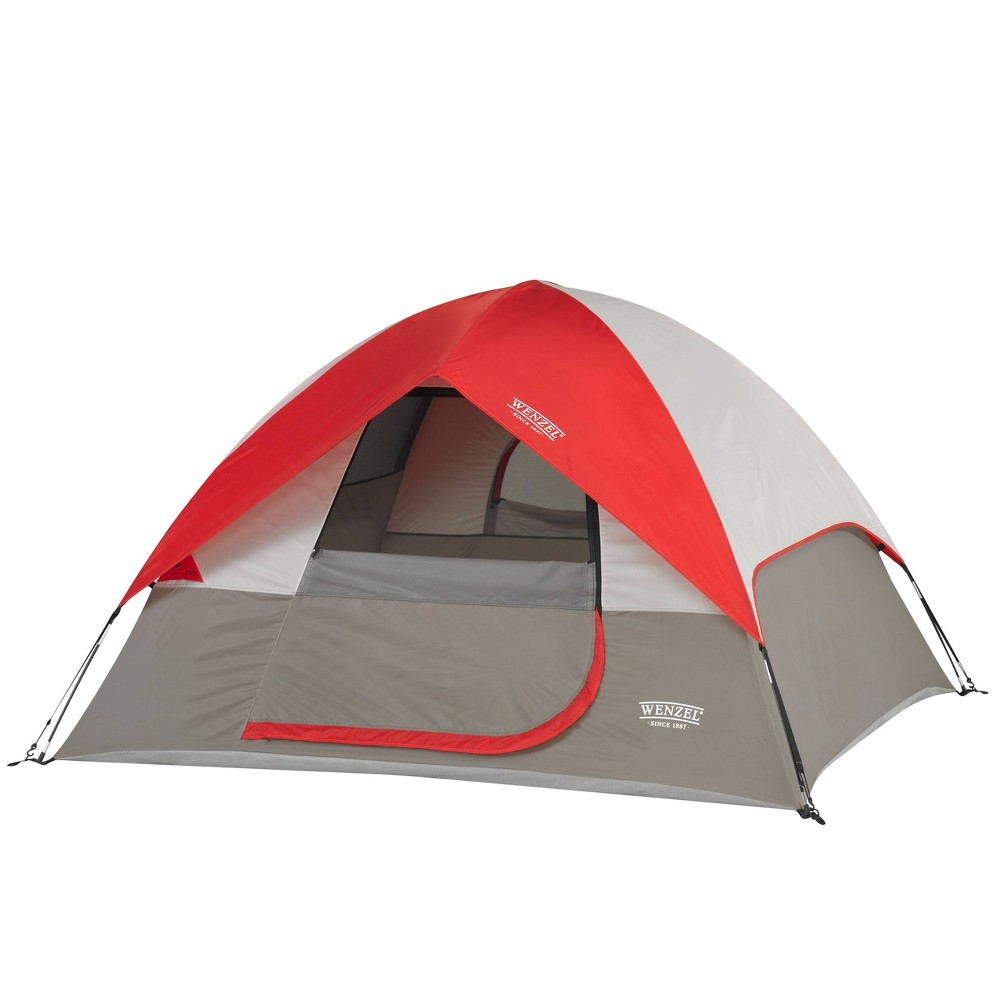 Image of Wenzel 3 Person Ridgeline Tent - Red