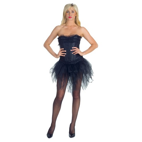 Women's Tutu Short Front Long Back Costume - One Size Fits Most - image 1 of 2