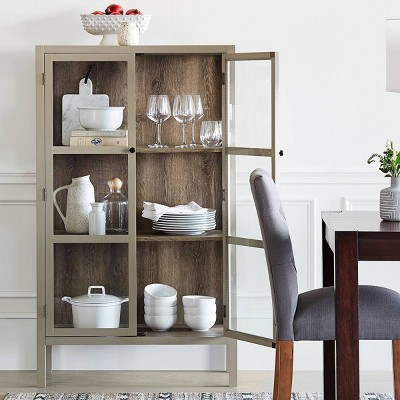 Traditional Dining Room with Versatile Decorative Storage Cabinet Collection - Threshold™