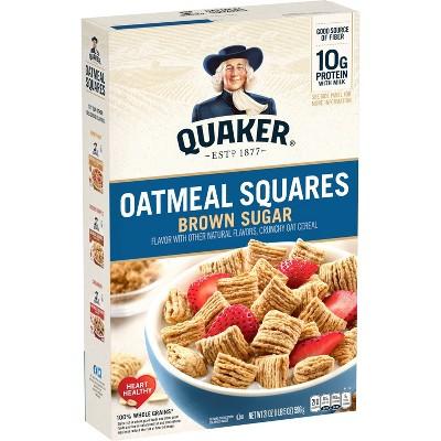 Oatmeal Squares Brown Sugar Large Box - 21oz - Quaker