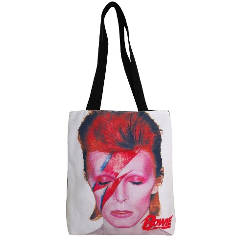 "Perryscope 15"" David Bowie Tote - White - image 1 of 1"
