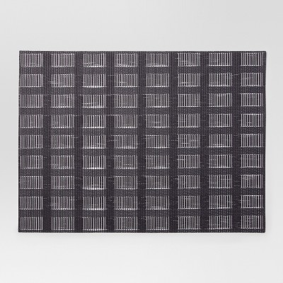 Gray Woven Grid Placemat - Project 62™
