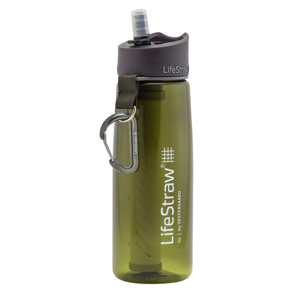LifeStraw 2-Stage Filtration Water Bottle - Green (23oz)