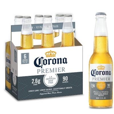 Corona Premier Lager Beer - 6pk/12 fl oz Bottles