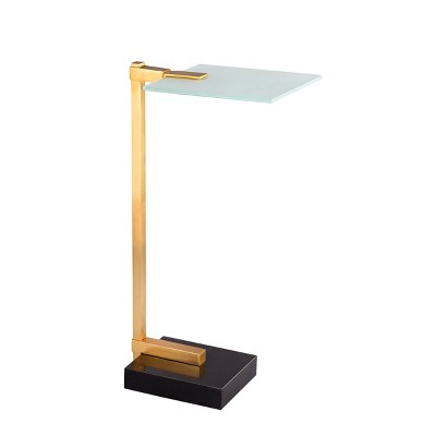 Remy Drink Table Gold/Black - Carolina Chair & Table