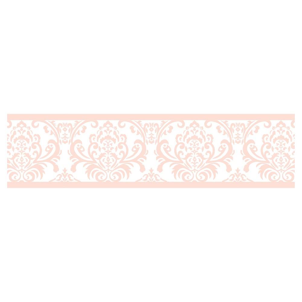 Image of Pink/White Amelia Wall Border - Sweet Jojo Designs, Pink White
