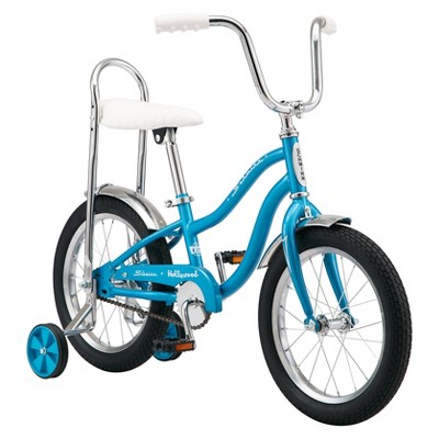 "Schwinn Hollywood 16"" Kids' Hybrid Bike - Blue"
