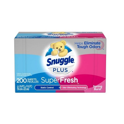 Snuggle Super Fresh Sheet Spring Burst - 200ct