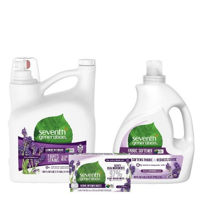 Seventh Generation Lavender Laundry Starter Set