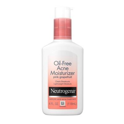 Neutrogena Oil-Free Acne Moisturizer Pink Grapefruit - 4oz
