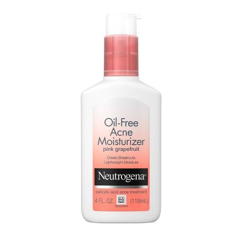 Neutrogena Oil-Free Acne Moisturizer Pink Grapefruit - 4oz - image 1 of 4