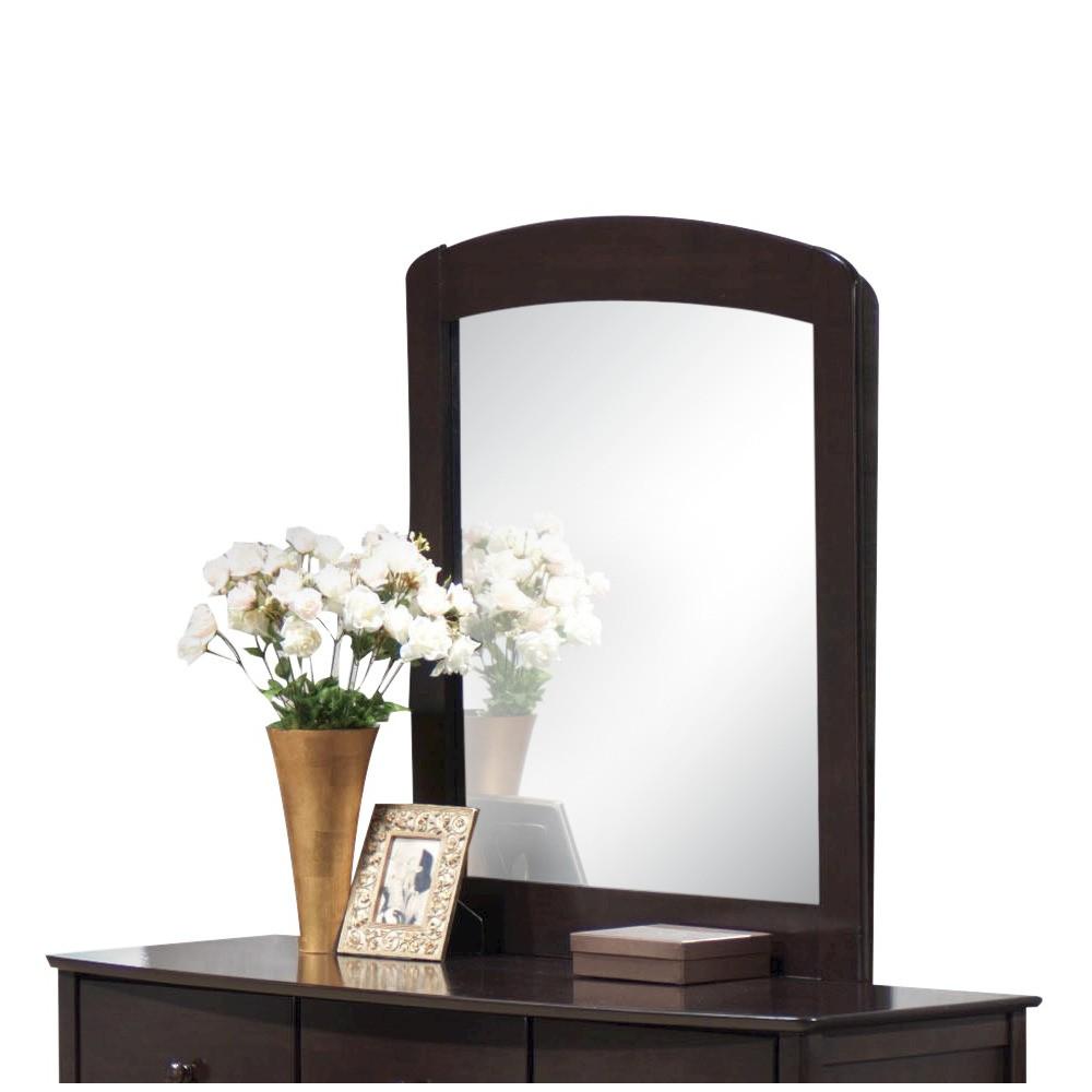 Image of San Marino Kids Dresser Mirror - Dark Walnut - Acme, Brown
