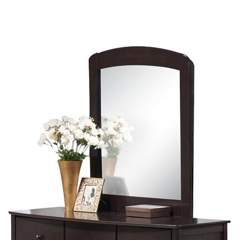San Marino Kids Dresser Mirror Dark Walnut - Acme Furniture - image 1 of 2