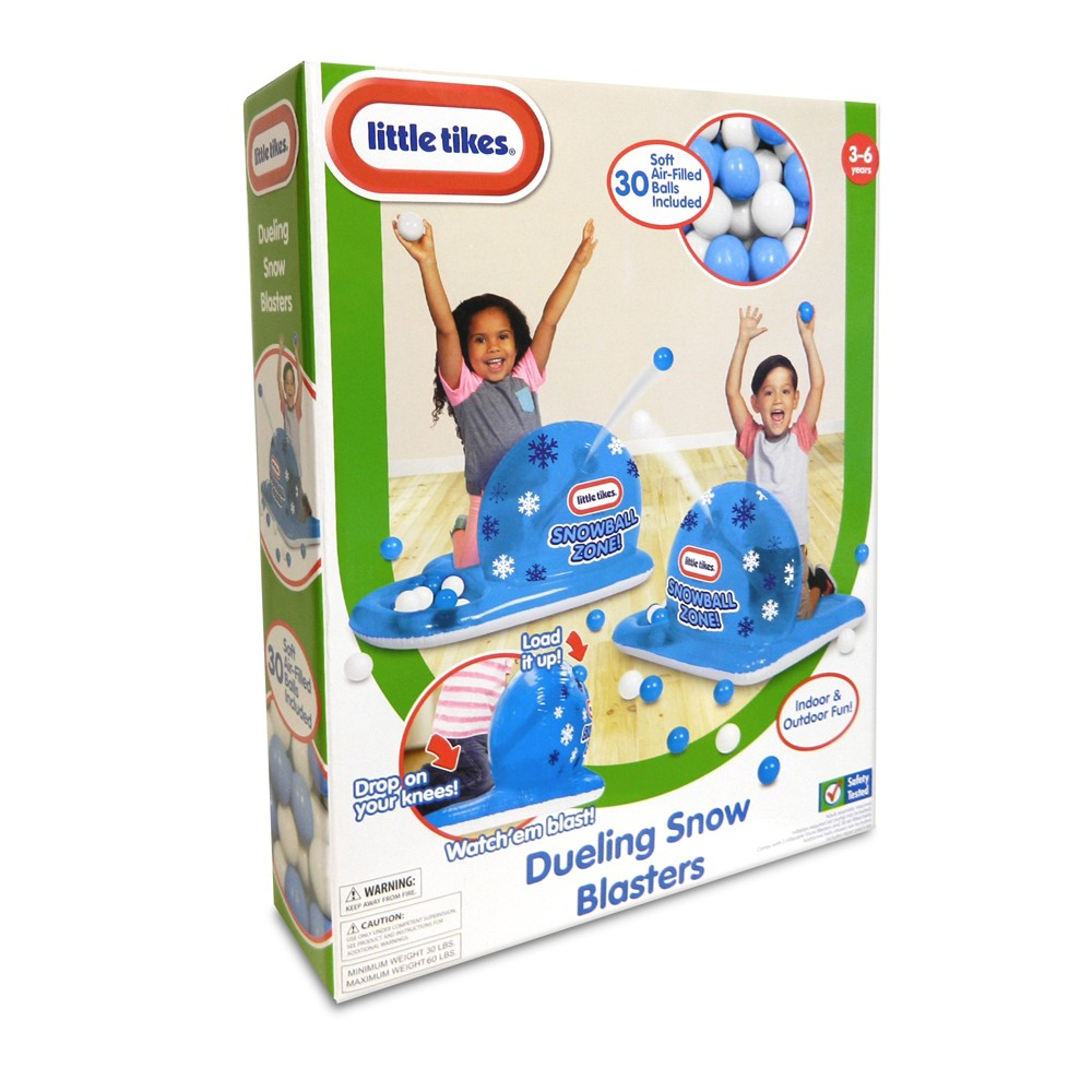 Little Tikes Dueling Snowball Blasters, Multi-Colored