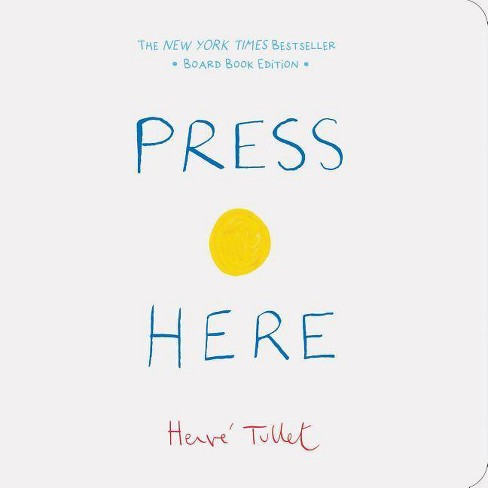Press Here -  by Herve Tullet (Board Book) - image 1 of 1