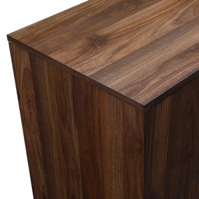 "44"" Mid Century Modern Asymmetric Buffet - Saracina Home : Target"