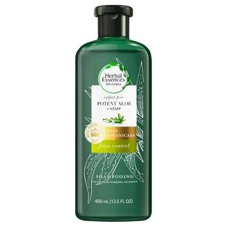 Herbal Essences Bio:renew Hemp + Potent Aloe Sulfate Free Shampoo Frizz Control - 13.5 Fl Oz : Target