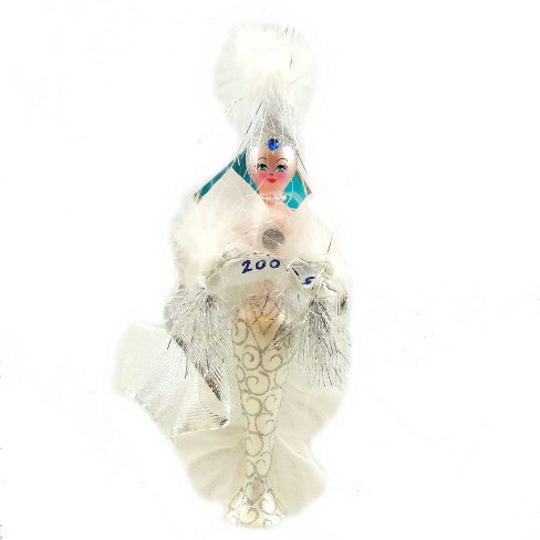 Christopher Radko Jacqueline Frost Ornament Dated 2007 Italian - image 1 of 2