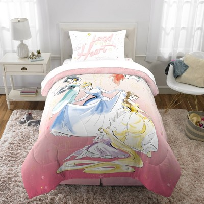 Twin Disney Princess Lead with Your Heart Bedding Bundle