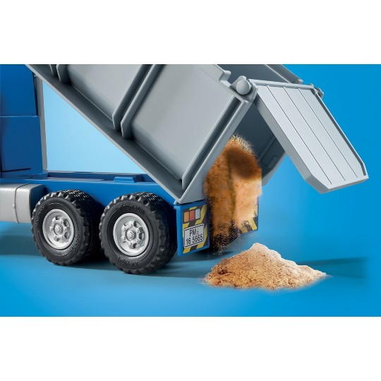 Playmobil City Action - Dump Truck image number null