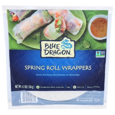 Blue Dragon Vegan Spring Wrappers - 16oz/16ct