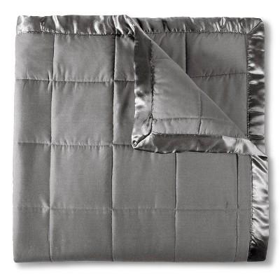 Elite Home Down Alt Microfiber Blanket - Gray (Full/Queen)