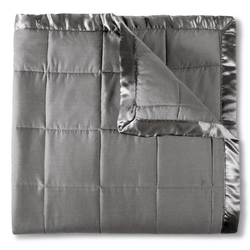 Image of Elite Home Down Alt Microfiber Blanket - Gray (Twin)
