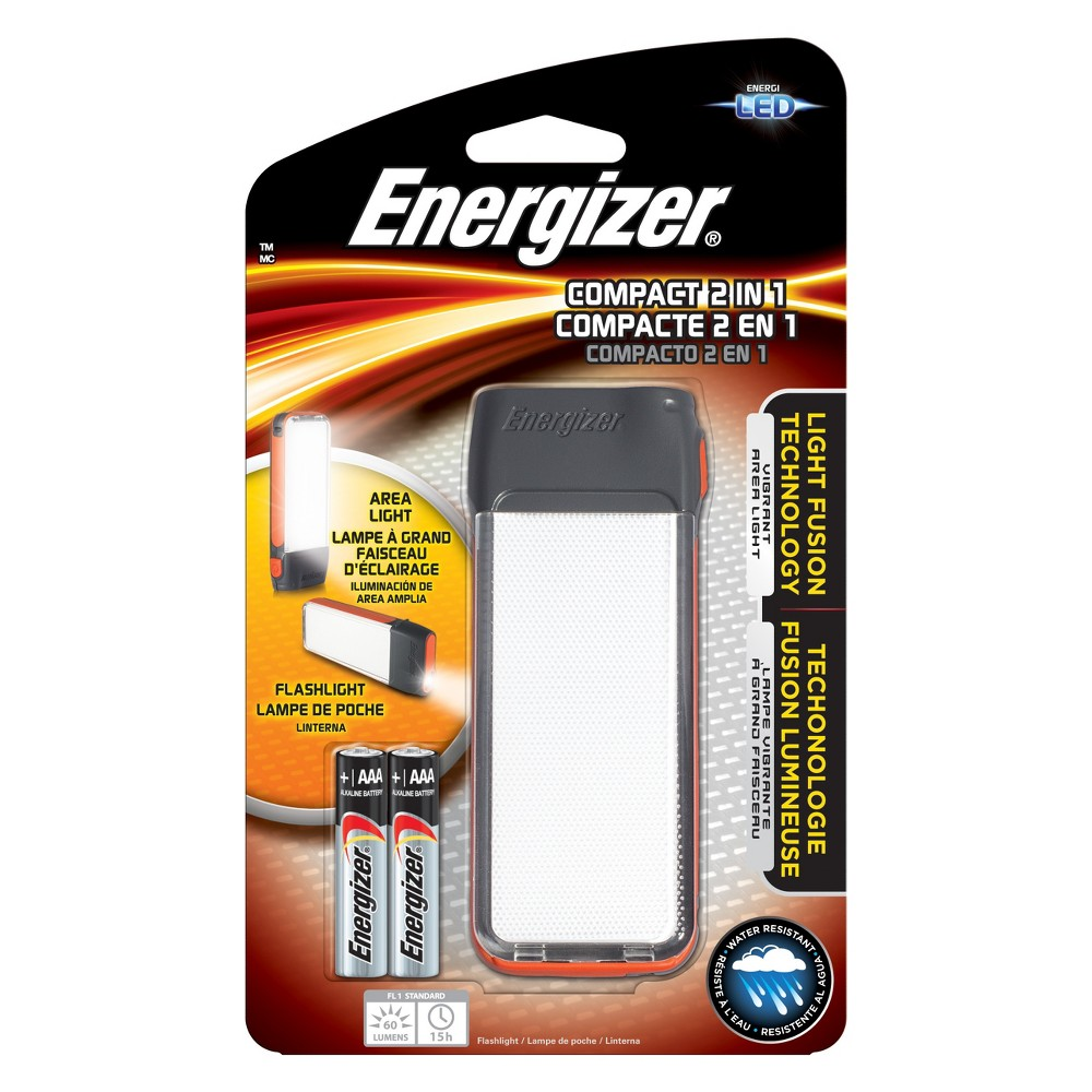 Energizer Led Fusion Compact 2 in 1 Light, Black