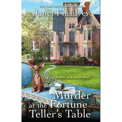 Murder at the Fortune Teller's Table - by Janet Finsilver (Paperback)