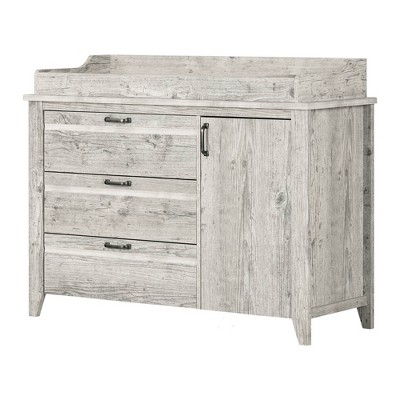 Lionel Changing Table with Drawers - Seaside Pine - South Shore