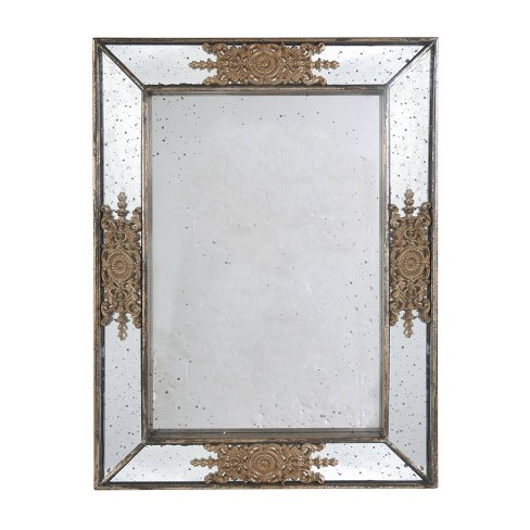 Classic Vintage Mirror Gold - A&B Home - image 1 of 1