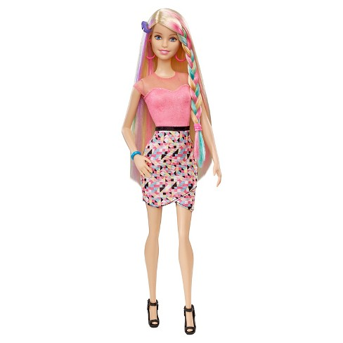 d9559baa83d Barbie Rainbow Hair Doll : Target