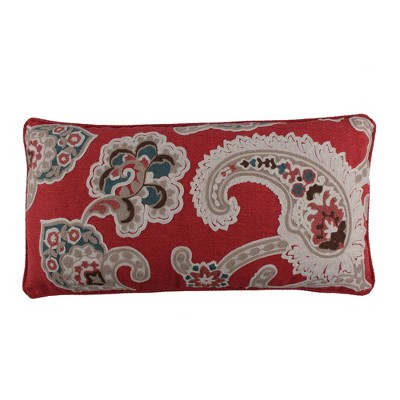 Astrid Embroidered Paisley Decorative Pillow - Levtex Home