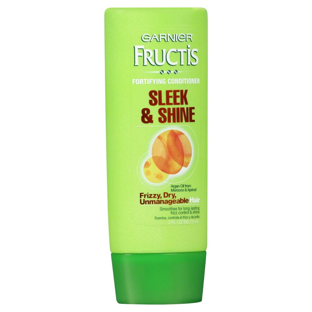 Garnier Fructis Sleek & Shine Conditioner -Travel Size - 3 fl oz