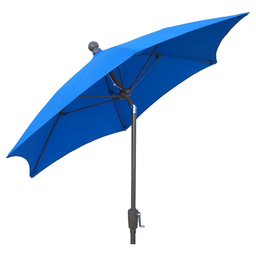Image of FiberBuilt 7.5' Patio Umbrella FiberBuilt Pacific Blue