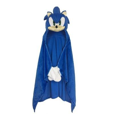 Sonic the Hedgehog Hooded Blanket