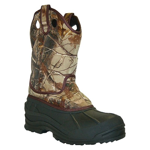 Men's Itasca Adak Camo Boots - Light Brown 8 - image 1 of 2