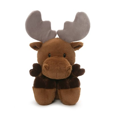 "G by GUND Silly Pawz Moose Plush 12"" Stuffed Animal"
