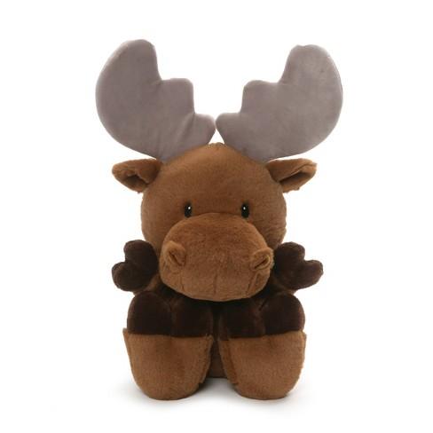 "G by GUND Silly Pawz Moose Plush Stuffed Animal Brown 12"" - image 1 of 1"