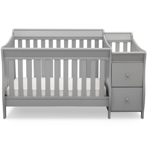 Delta Children Bentley Convertible Baby Crib and Changer - image 1 of 4