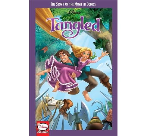 Disney Tangled : The Story of Movie in Comics (Paperback) - image 1 of 1