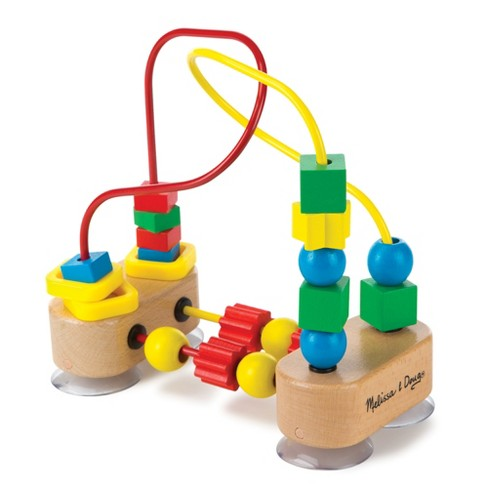 Melissa & Doug First Bead Maze - Wooden Educational Toy - image 1 of 4