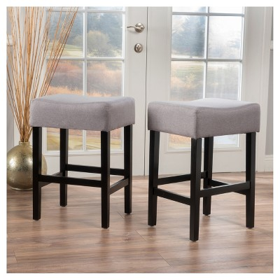 2ct Lopez Counter Height Barstool Set - Christopher Knight Home : Target
