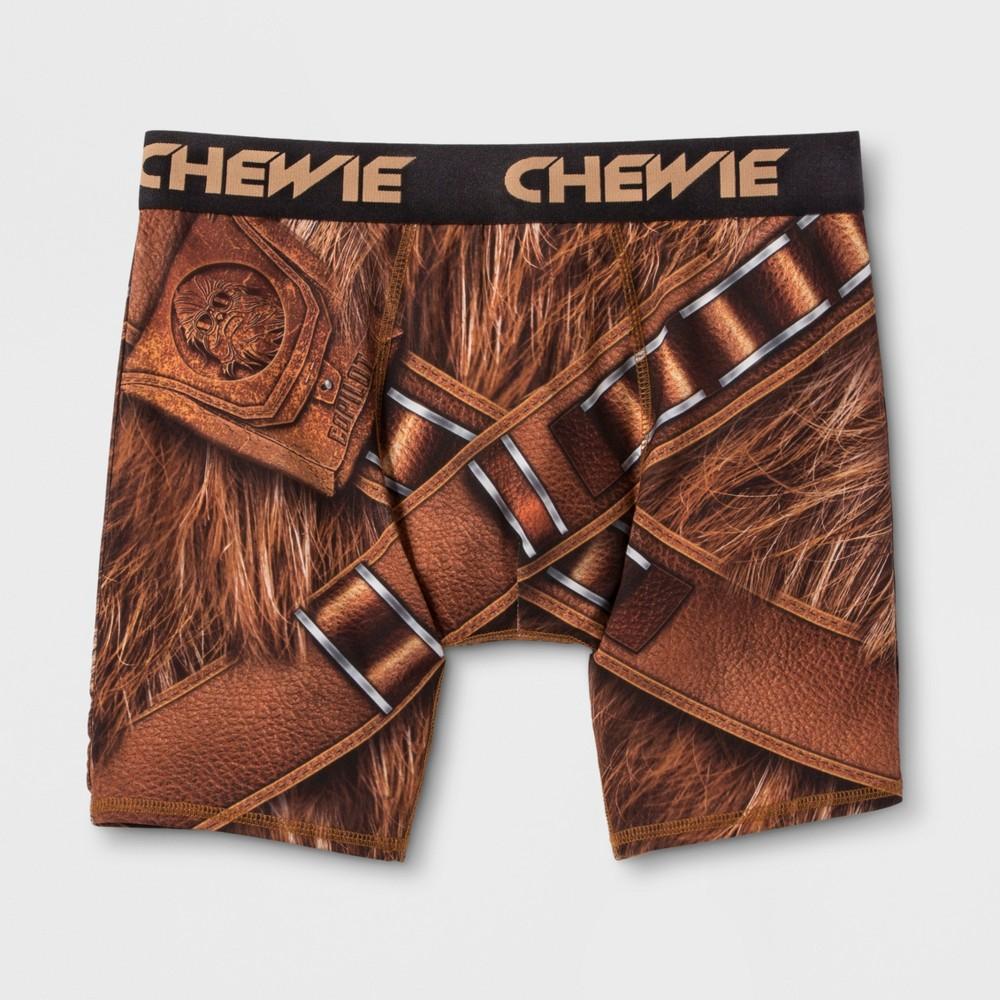Men's Star Wars Boxer Briefs - Brown M