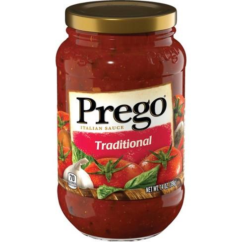 Prego Traditional Italian Sauce 14 Oz