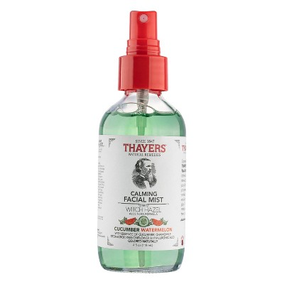 Thayers Natural Remedies Calming Facial Mist - Cucumber Watermelon - 4 fl oz