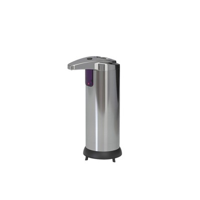 7.6oz Touchless Hands Free Automatic Soap and Sanitizer Dispenser Stainless Steel - Better Living Products